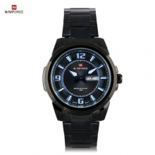 2016 Luxury Brand NAVIFORCE Men Japan Quartz Watch Stainless Steel Male Wrist Watches Fashion Sports Watch Relogio Masculino