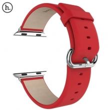 Hot HOCO Brand Classic Genuine Leather Band Strap Stainless Steel Buckle Adapter Belt for Apple Watch 42mm