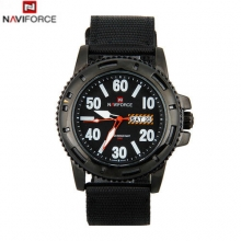 2016 New NAVIFORCE Men's Watches Top Brand Luxury Male Quartz Watch Mens Nylon Strap Casual Sports Wristwatch relogio masculino