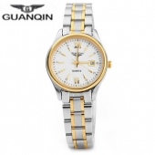 Original Fashion GUANQIN Quartz Watch Women Top Brand Luxury relogio feminino Waterproof Ladies Dress Golden Wristwatches