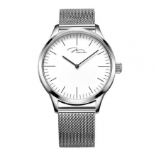 Original Brand Verus Fashion High Quality Ultra-thin Waterproof Quartz Watches Stainless Steel Braid Strap Men's Watch