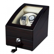 Shipping From UK Automatic Leather 2+3 Watch Winder Rotation Storage Display Case For Watch Gift