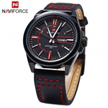 New Luxury Brand NAVIFORCE Men's Casual Quartz Watch Date Day Male Sports Watches Military Leather Wrist Watch Relogio Masculino