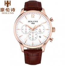Top Brand HOLUNS Men's Watch Waterproof Business Casual Sports Wristwatch Luxury Male Quartz Watches Clocks relogio masculino