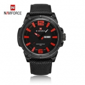 Naviforce Quartz Men Watch Luxury Brand Hour Date Nylon Strap Wrist Male Military Men Sports Wristwatches