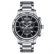 Fashion New Brand Neos Men Quartz Watch Full Steel Wristwatches Dress Casual Men Watches Gift relogio masculino