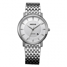 New Fashion Brand NEOS Watches Men Luxury Brand Hot Design Business Sports Wrist Watches Men Quartz Full Steel Watch Gift