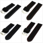 Hot Sale 24mm Rubber Watchband for Watch Fashion Ultra lightweight Watch strap for men &women