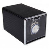 High Quality Black Automatic Single Watch Winder Rectangle Mute Box For Watches Gift Hot Sales